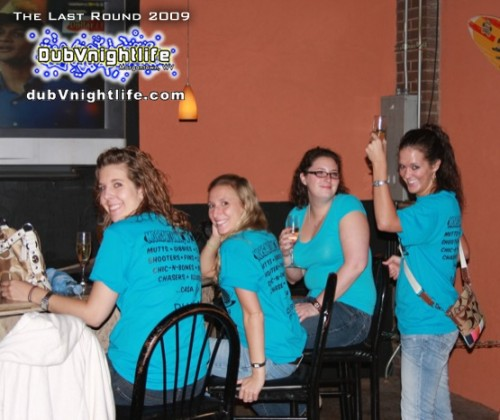 The Last Round… Annual Senior Bar Crawl