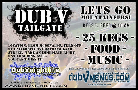 dubV Tailgate – The Best PREGAME Parties!