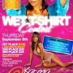 Karma Nightclub Wet TShirt Contest