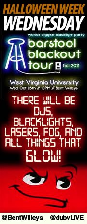 Blackout Tour tonight at Bent Willeys!
