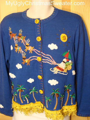 Tacky Christmas Sweater of the Day!