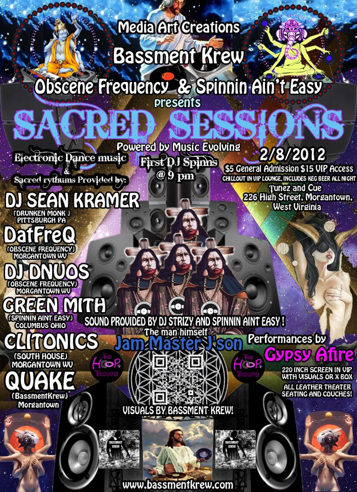 Sacred Sessions – 2.8.12 – Powered by Music Evolving
