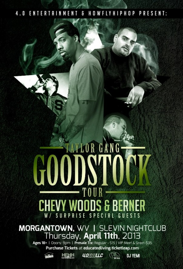 THE TAYLOR GANG GOODSTOCK TOUR @ Tunez & Cue  –  Thursday April 11th