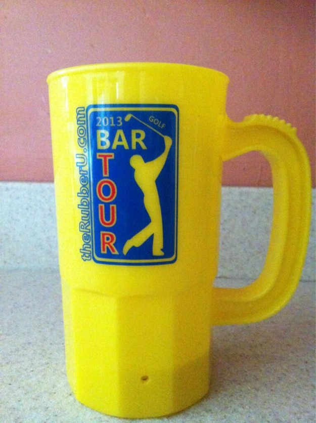 Golf Bar Tour mugs! 16 oz.&#8217;s of booze and fun #bartour